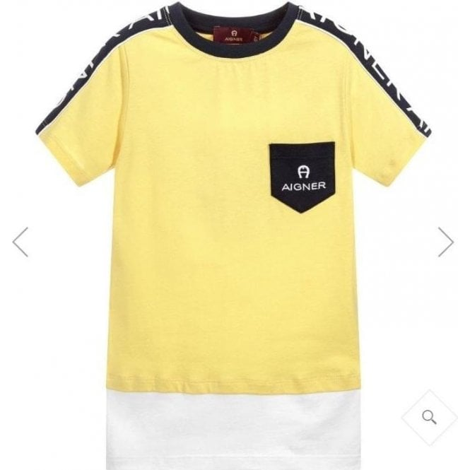 AIGNER T-shirt Yellow