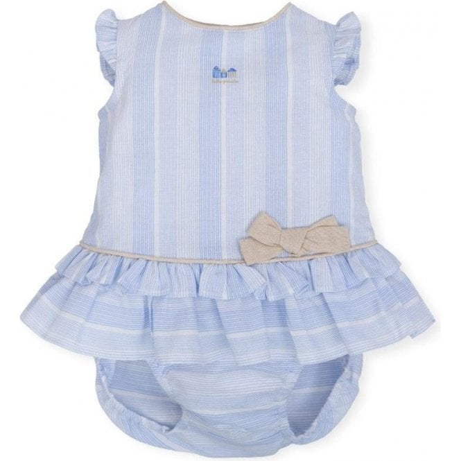 TUTTO PICCOLO Dress And Briefs Blue