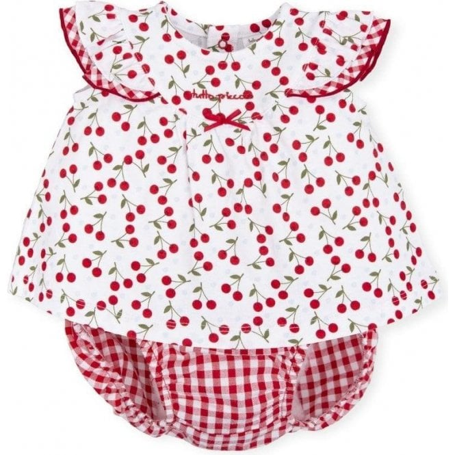 TUTTO PICCOLO Dress & Briefs Red