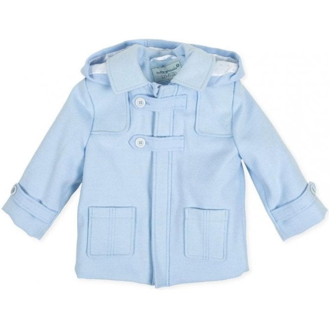 TUTTO PICCOLO Dufle Coat Blue