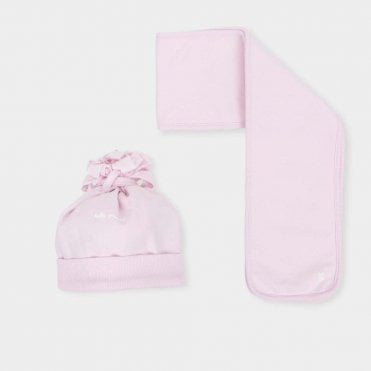 Hat And Scarf Pink