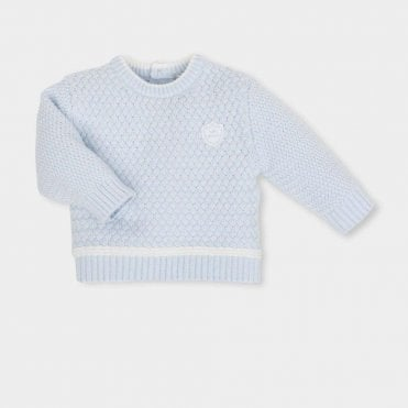 Jumper And Trousers Blue