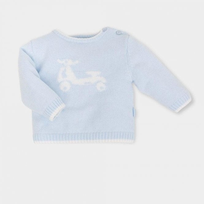 TUTTO PICCOLO Jumper And Trousers Blue
