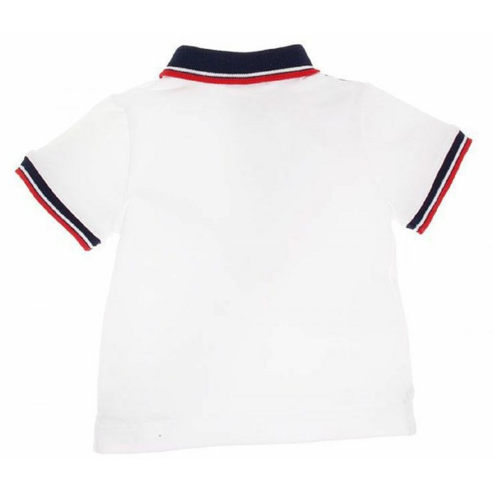 Red White And Blue Polo Shirt