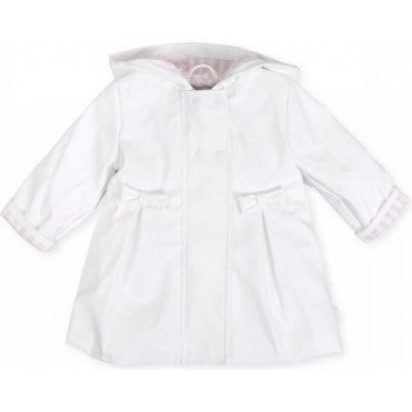 Raincoat White