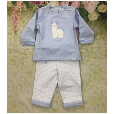 Sweatshirt And Trousers Blue